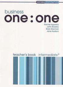 Business one: One Intermediate - Teacher´s Book