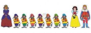 Loutky Sněhurka - 10 loutek (řada economy)
