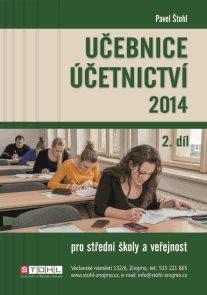 Učebnice účetnictví 2014 pro SŠ a veřejnost 2. díl