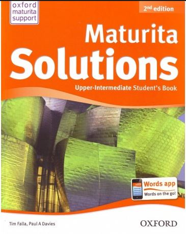 Maturita Solutions - Second Edition Upper-Intermediate Students Book (CZ) - A4, brožovaná
