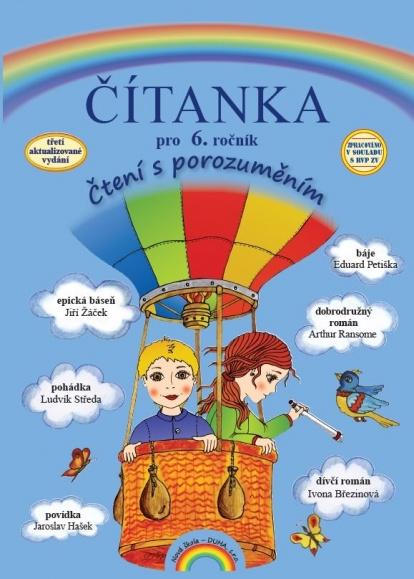 Čítanka pro 6. ročník - Čtení s porozuměním - Fejšusová M., Janáčková Z. - B5