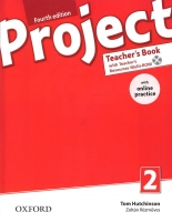 Project 2 - Fourth Edition Teacher´s Book with OnLine Practice Pack - Hutchinson T., Rezmuves Z. - 220× 275 cm