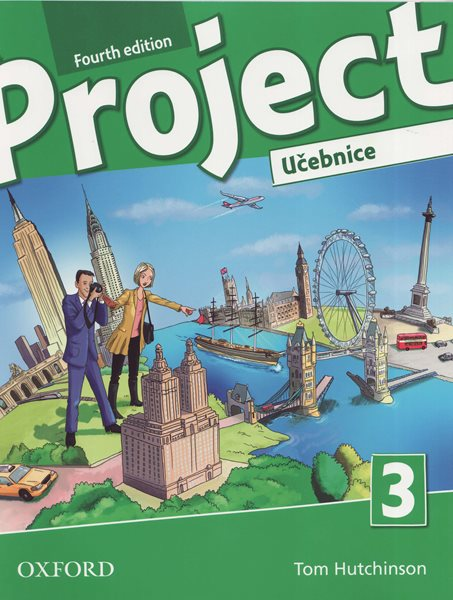 Project 3 - Fourth Edition učebnice (CZ) - Hutchinson T., Rezmuves Z. - 220× 275 cm