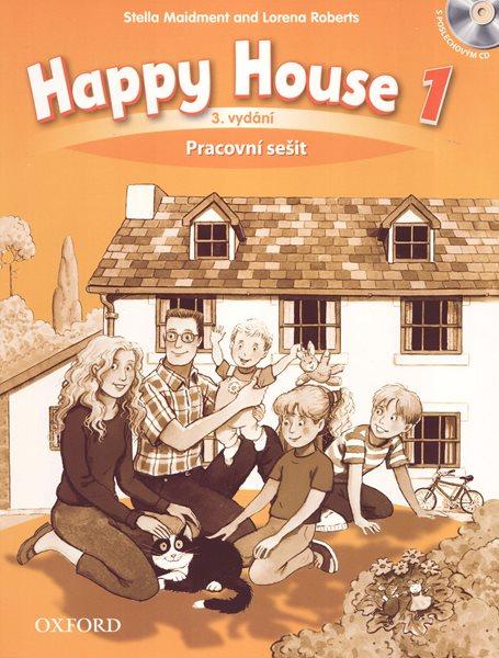 Happy House 1 - třetí vydání - Pracovní sešit s poslechovýn CD (CZ) - Maidment S., Roberts L. - 220×275 mm