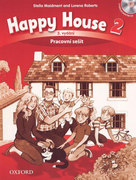 Happy House 2 - třetí vydání - Pracovní sešit s poslechovýn CD (CZ) - Maidment S., Roberts L. - 220×275 mm