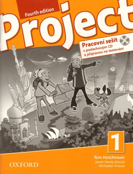 Project 1 - Fourth Edition - Pracovní sešit with Audio CD Pack (CZ) - Hutchinson T. - 220×275 cm