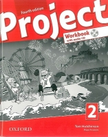 Project 2 - Fourth Edition - Pracovní sešit with Audio CD Pack (CZ) - Hutchinson T. - 220×275 cm