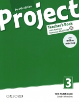 Project 3 - Fourth Edition -Teacher´s Book + online practice Pack
