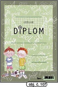 Diplom A5 - Fotbal /Góól/