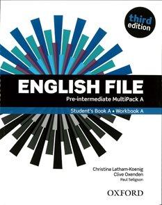 English File Pre-intermediate Multipack A / Student´s book A + Workbook A/