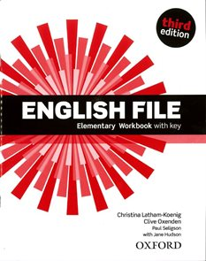 English File Third Edition Elementary WB with Answer Key and iChecker