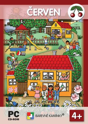 Hrajeme si a učíme se - ČERVEN - interaktivní Software pro předškolní děti, Doprava zdarma