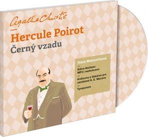 CD Hercule Poirot Černý vzadu