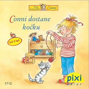 Dobrodružství s Conni - Conni dostane kočku - Schneider Liane - 10x10