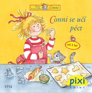 Dobrodružství s Conni - Conni se učí péct - Schneider Liane - 10x10
