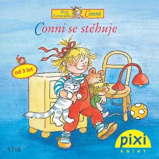 Dobrodružství s Conni - Conni se stěhuje - Schneider Liane - 10x10