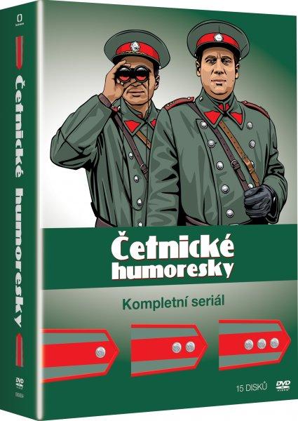 Četnické humoresky Komplet 15 DVD - 13x19