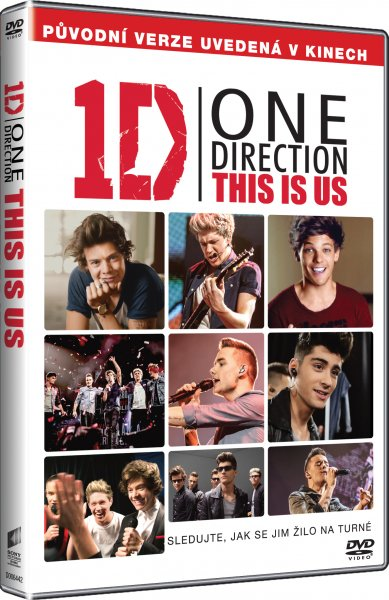 DVD One Direction: This Is Us - Morgan Spurlock - 13x19