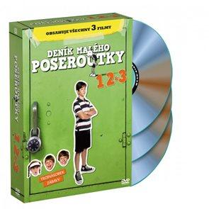 3 DVD Deník malého poseroutky 1, 2, 3