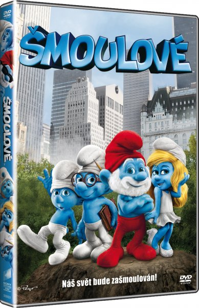 DVD Šmoulové - Raja Gosnell - 13x19 cm