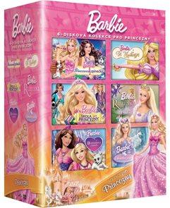 Barbie Princezna kolekce 6 DVD