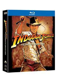 Indiana Jones kolekce 5 Blu-ray