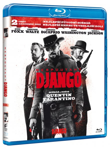 Nespoutaný Django Blu-ray - Quentin Tarantino - 13x19