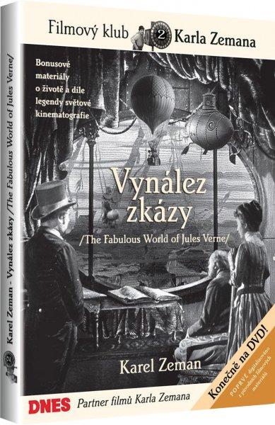 DVD Vynález zkázy - Karel Zeman - 13x19