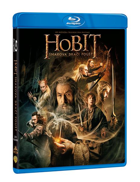 Hobit: Šmakova dračí poušť 2 Blu-ray - 13x19