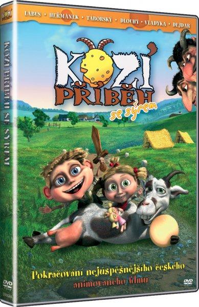 DVD Kozí příběh se sýrem - Jan Tománek - 13x19