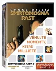 Smrtonosná past 1-3, 3 DVD - 13x19