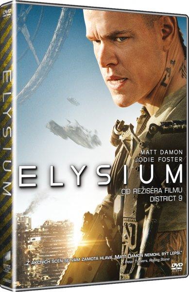 DVD Elysium - Neill Blomkamp - 13x19