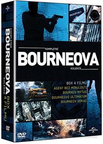 Kompletní Bourneova kolekce 4 DVD