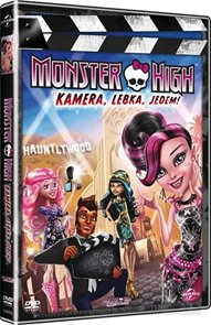 DVD Monster High: Kamera, Lebka, Jedem!