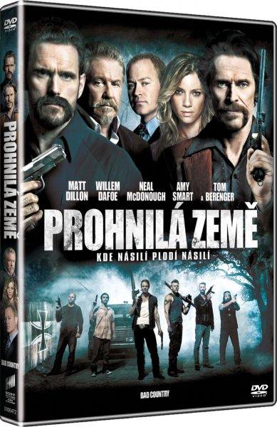 DVD Prohnilá země - Chris Brinker - 13x19