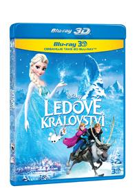 Ledové království 3D + 2D Blu-ray