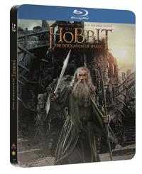 Hobit: Šmakova dračí poušť 2 Blu-ray steelbook - Peter Jackson - 13x19