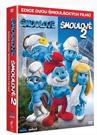 Šmoulové 1+2 kolekce 2 DVD - 13x19