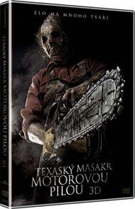 DVD Texaský masakr motorovou pilou 3D