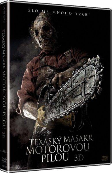 DVD Texaský masakr motorovou pilou 3D - John Luessenhop - 13x19