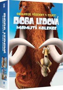 Doba ledová Mamutí kolekce 4 DVD