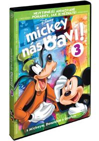 DVD Mickey nás baví! 3 - Walt Disney - 13x19