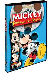 DVD Mickey: Továrna na smích - Walt Disney - 13x19