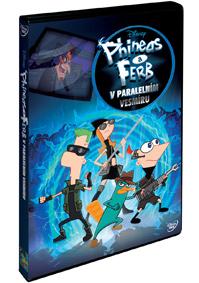 DVD Phineas a Ferb v paralelním vesmíru - Walt Disney - 13x19