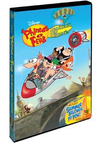 DVD Phineas a Ferb: Nejlínější den v životě