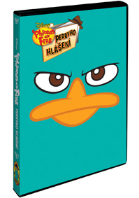 DVD Phineas a Ferb: Perryho hlášení