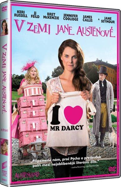 DVD V zemi Jane Austenové - Jerusha Hess - 13x19