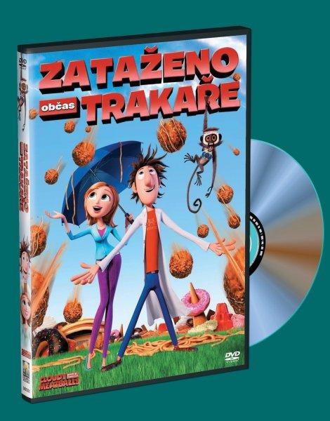 DVD Zataženo, občas trakaře - Phil Lord - 13x19