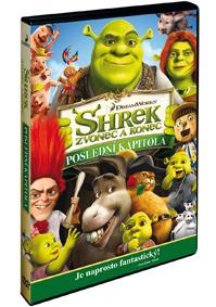 DVD Shrek: Zvonec a konec