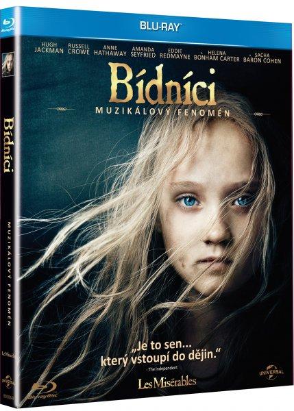 Bídníci Blu-ray - 13x19